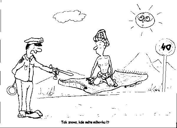 Kreslene Vtipy Cernobile
